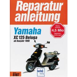 Yamaha XC 125 Beluga (90>) - Reparaturanleitung