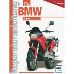 BMW F 650 Baujahre (93-00) - Reparaturanleitung Bucheli