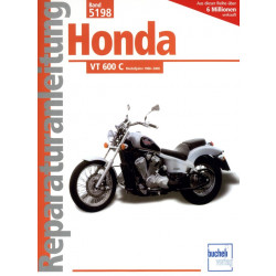 Honda VT 600 C Shadow (1988-2000) - Reparaturanleitung