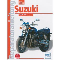 Suzuki GSX 750 (97>) - Reparaturanleitung