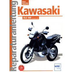 Kawasaki KLE 500 (1991>) - Reparaturanleitung