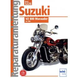 Suzuki VZ 800 Marauder (1996>) - Reparaturanleitung