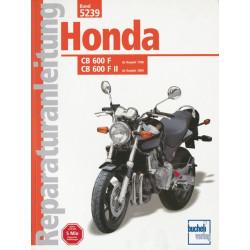 Honda CB 600 F / F II Hornet (98>) - Reparaturanleitung