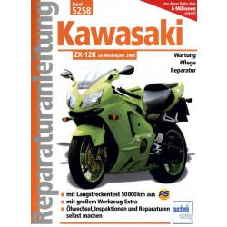 Kawasaki ZX-12R (2000>) - Reparaturanleitung