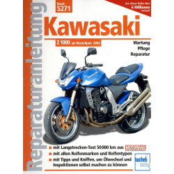 Kawasaki Z 1000 ZRT00A (2003-2006) - Reparaturanleitung