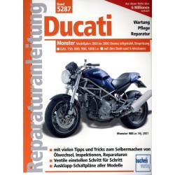 Ducati Monster 620 / 750 / 800 / 900 / 1000 (2000-2006)  Reparaturanleitung