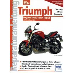 Triumph Daytona 675 R / Street Triple R (2006>) - Reparaturanleitung