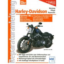 Harley Davidson Sportster 883 (2007>) - Reparaturanleitung (fehlt kurzfristig im Lager MH)