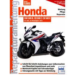 Honda CBR 500R / CB 500 F / CB 500 X (2013>) - Reparaturanleitung