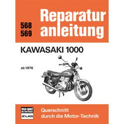 Kawasaki Z 1000 (76>) - Reparaturanleitung