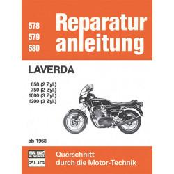 Laverda 650 / 750 / 1000 / 1200 (68>) - Reparaturanleitung