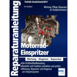 Motorrad Einspritzer Wartung, Diagnose Reparatur - Bucheli Special 6017