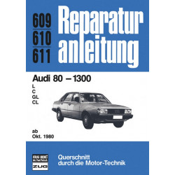 Audi 80 1.3 Liter (80>) - Reparaturanleitung