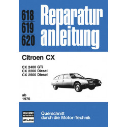 Citroen CX (76>) - Reparaturanleitung