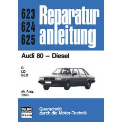 Audi 80 B2 Diesel (80>) - Reparaturanleitung