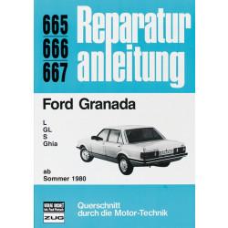 Ford Granada (80>) L / GL / S / Ghia- Reparaturanleitung