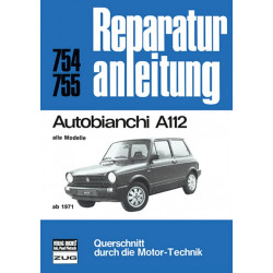 Autobianchi A112 (71>) - Reparaturanleitung Bucheli