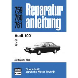 Audi 100 C3 (83>) - Reparaturanleitung