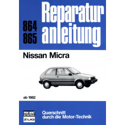 Nissan Micra K10 (1982-1992) - Reparaturanleitung