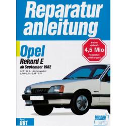 Opel Rekord E (82>) - Reparaturanleitung