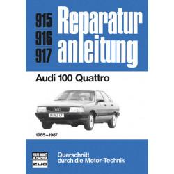 Audi 100 Quattro C3 Typ 44 (1985-1987) - Reparaturanleitung