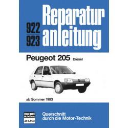 Peugeot 205 Diesel (83>) - Reparaturanleitung