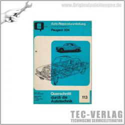 Peugeot 204 (65-76) - Reparaturanleitung