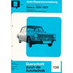 Simca 1301 / 1501 (67–76) - Reparaturanleitung