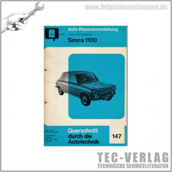 Simca 1100 (67 - 75) - Reparaturanleitung