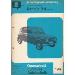 Renault R 4 (>70) - Reparaturanleitung