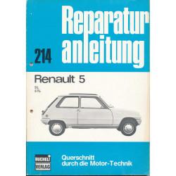 Renault 5 L/TL (72-85) - Reparaturanleitung