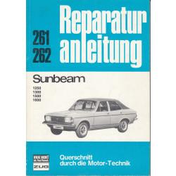 Sunbeam 1250 / 1300 / 1500 / 1600 - Reparaturanleitung