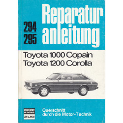 Toyota 1000 / Corolla 1200 - Reparaturanleitung