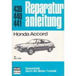 Honda Accord (ab 11.1979) - Reparaturanleitung