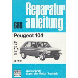 Peugeot 104 (ab 1981) - Reparaturanleitung