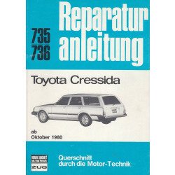 Toyota Cressida (ab 1980) - Reparaturanleitung