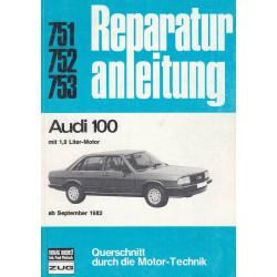 Audi 100 1,8 Liter-Motor (ab 1982) - Reparaturanleitung