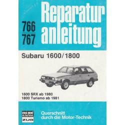 Subaru 1600 / 1800 (ab 1980) - Reparaturanleitung