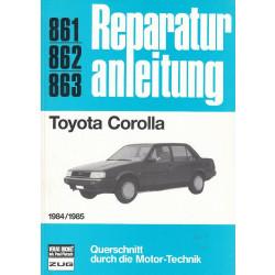 Toyota Corolla (1984 / 1985) - Reparaturanleitung
