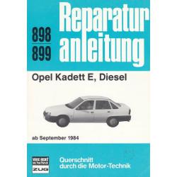Opel Kadett E Diesel (ab 1984) - Reparaturanleitung