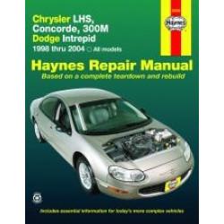 Chrysler LHS, Concorde, 300M and Dodge Intrepid (98 - 03) - Repair Manual Haynes