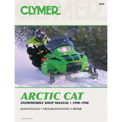 Arctic Cat Snowmobile (90-98) - Shop Manual