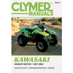 Kawasaki Mojave KSF250 (87-04) Clymer Repair Manual