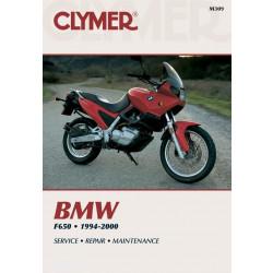 BMW F650 (94-00) Repair Manual Clymer