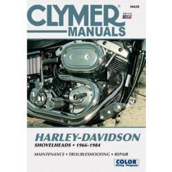 Harley Davidson Shovelheads (66-84) Clymer Repair Manual