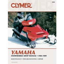 Yamaha Snowmobile (84-89) - Shop Manual