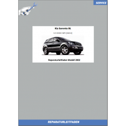 KIA Sorento BL (02-04) Werkstatthandbuch 3.5 DOHC MFI