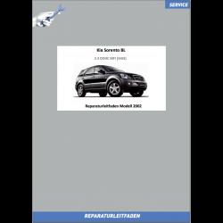 KIA Sorento BL (02-04) Werkstatthandbuch 2.4 DOHC MFI