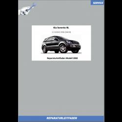 KIA Sorento BL (02-04) Werkstatthandbuch 2.5 Liter CRDI Diesel
