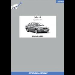 Volvo S40 (2001) Werkstatthandbuch Schaltpläne